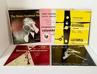Benny Goodman 78 RPM Records Columbia Collection of 5 in Excellent Condition!