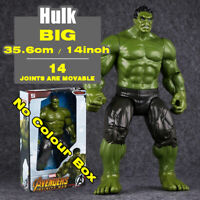14in Marvel Heroes Avengers The Hulk Brand New Action Figure Comic Big Child Toy