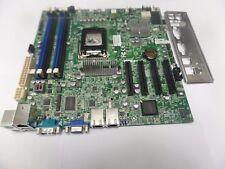 Super Micro X9SCM-F, LGA 1155, Intel C204, Micro ATX server motherboard with i/o