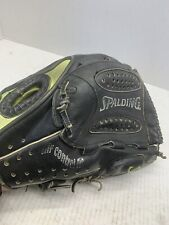 "Spalding AIR FLEX Black Leather Baseball Softball Glove 13.5"" 42-150   RHT"