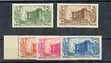 ST PIERRE & MIQUELON Sc B4-8(YT 191-5)**VF NH 1939 FRENCH REVOLUTION SET $450
