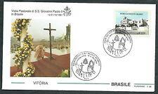 1991 VATICANO VIAGGI DEL PAPA BRASILE VITORIA - SV2