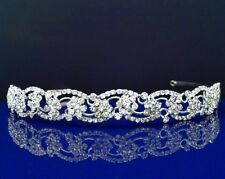 SparklyCrystal Bridal Rhinestone Crystal Wedding Prom Headband Tiara Crown 32508