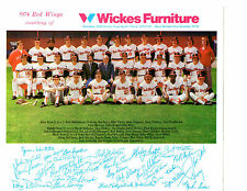 1974 ROCHESTER RED WINGS TEAM 8x10 PHOTO JOHNSON STEIN  BASEBALL NEW YORK
