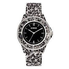 Orologio Watch Versus Versace SOF06-0014 Tokyo Policarbonato Maculato Nero New