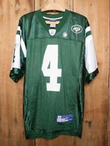 REEBOK NFL Equipment New York Jets Brett Favre Green Mesh Replica Jersey Sz. S