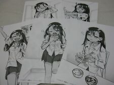 w/LTD newly written illustration Paper Nagatoro San no Nnichijo 1-5 Set Japanese