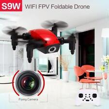 S9W 2.4G 4CH 0.3MP Fotocamera WIFI FPV Mini Drone RC Quadcopter Colore ROSSO ITA