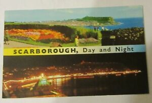 Scarborough, Day And Night. E.T.W.Dennis No.S.T.0211. Old Postcard