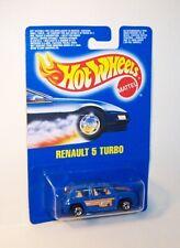 HOT WHEELS Mattel Vintage BW Blackwall Blue Card RENAULT 5 TURBO - MOC