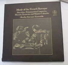 3-LP Box, Music of the French Baroque by Oberlin Baroque Ensemble, Vox Ins, NM