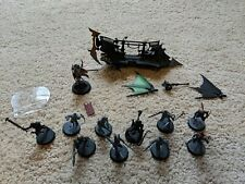 40k Drukhari Raider dark eldar w/ 10x wyches blast pistol, & custom archon