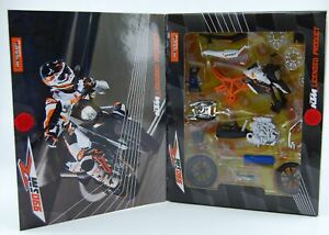 BBURAGO KTM 990 SMR 1:18 ASSEMBLY KIT NEW IN BOX DIE CAST MOTORCYCLE MODEL