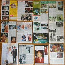 TONY ISBERT coleccion prensa 1970s/00s fotos clippings actor cine español
