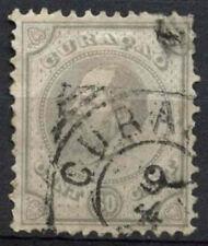 Curacao 1873 SG#24, 30c Pearl-Grey P12.5x12 Used #A92500B