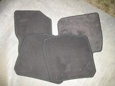 Original Volvo Fußmattensatz  antrazit  4 teilig   S/V40   *30618462*