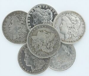 Pre 1921 Silver Morgan Dollar Better Detail Cull Lot of 20