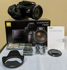Nikon Coolpix P1000 16Mp Point & Shoot Digital Camera - Near Mint