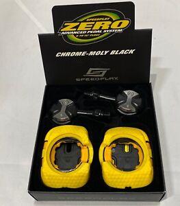 Speedplay Zero Chrome-Moly Black