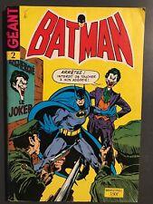 BATMAN GEANT (Sagedition - 2ème série - V2) - T2 : juin - juillet 1975
