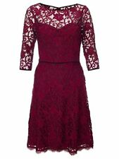 Adrianna Papell  Three-quarter sleeve lace dress RED  SIZE 2 #380 NWT