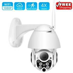 1080P PTZ IP Camera Wifi  Wireless Security Camera Pan Tilt 4X Digital Zoom