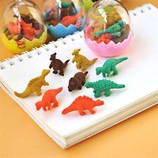 Creative Dinosaur Eggs Eraser Rubber Papelaria Gomas De Borrar School Supplies