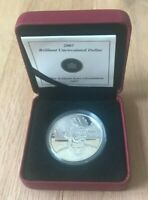 2007 Canada Silver Dollar Uncirculated - Thayendanegea - New In Box