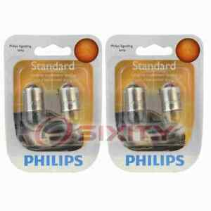 2 pc Philips Parking Light Bulbs for Porsche 928 1981-1994 Electrical ud