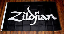 New Zildjian Flag Music Store Advertising Banner Sign Drums Cymbals Percussion