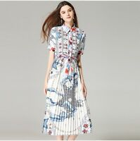 DMS 09 Women RUNWAY designer inspired SUMMER DRESS plus size