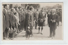 J.W.V No 7 / 20 The King's Royal Visit To Frodsham 8th July 1925 Real Photograph