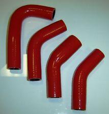 Yamaha RZ350 Silicone Radiator Hose Set - RED - No Logos - FREE SHIPPING
