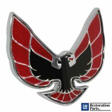 1974-1976 Firebird Trans Am Red Front Nose Phoenix Bird Emblem GM 493280