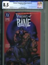 Batman Vengeance of Bane #1 CGC 8.5 1st Printing Origin & 1st Appearance Bane