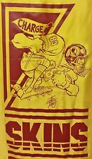 VINTAGE WASHINGTON REDSKINS NIKRY WALL HANGING BANNER MAN CAVE JACK DAVIS 1988