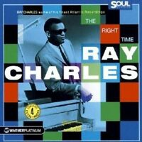 RAY CHARLES - RIGHT TIME,THE/PLATINUM COLLECTION CD NEU