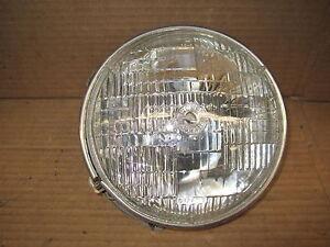 CHRYSLER CORDOBA 75-77 1975-1977 HEADLIGHT BUCKET w/ RING DRIVER LH LEFT OE