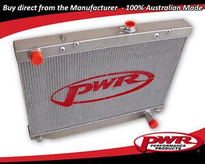 PWR ALUMINIUM RADIATOR TOYOTA LANDCRUISER HDJ100 HZJ105 430MM 1998-2007 PWR0784