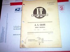 1270 1370 Vintage J.I. Case Tractor I&T Shop Service Repair Manual