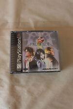 Final Fantasy VIII Sony PlayStation 1 1999 European Version PS1 Complete