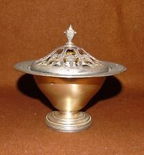 ANTIQUE 5910 DRESDEN E.P.N.S. SILVER PLATED CANDY DISH