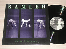 RAMLEH / M.T.T. MAURO THEO TEARDO - CRYSTAL REVENGE - LP 33 GIRI ITALY