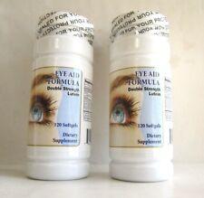 2 PCS/LOT: 240 Softgels Of Eye Aid Formula W/Double Lutein,Vitamin A;B1;C, Etc.