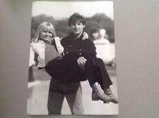 HUGUES AUFRAY et FRANCE GALL - Photo de presse originale 18x24cm