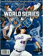2015 World Series MLB Program New York Mets Kansas City Royals (NY METS Cover)