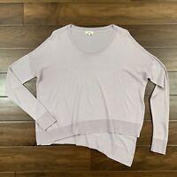 Aritzia Wilfred Women's Size Medium Librement Sweater Side Slit Asymmetrical