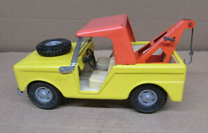 BUDDY L COLT TOW TRUCK Pressed Steel Vintage Toy