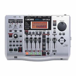 BOSS BR-864 8 TRACK USB DIGITAL RECORDING STUDIO & POWER SUPPLY 600 800 900 80