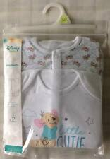 Disney Winnie The Pooh Little Roo 2 X Baby Boys All in One Babygrow/sleepsuits